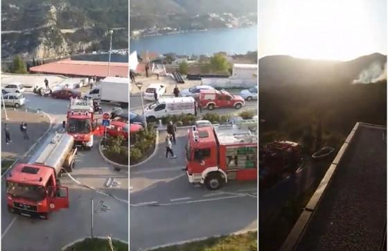 Grad − GORILO IZNAD NOVE MOKOŠICE Požar stavljen pod nadzor (FOTO/VIDEO)